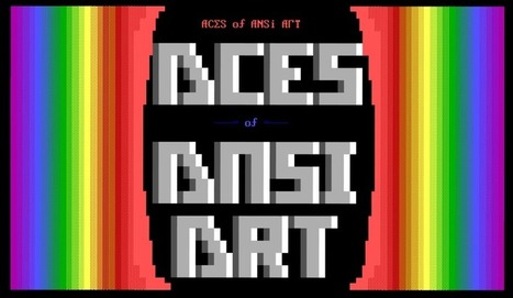 Aces of ANSI Art (AAA) was the first ANSI-group, formed 1989 in... | ASCII Art | Scoop.it