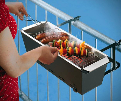 BBQ Bruce Handrail Grill Lets Your Enjoy The Summer Right On ... | BBQ | Scoop.it