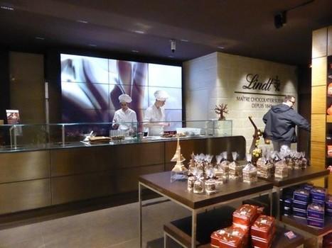 France : Carlipa réalise le concept digital et experentiel du nouveau magasin Lindt - Ooh-tv   Shopping expérience   Scoop.it