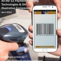 All the 12 Payment Enabling Technologies & 54 Illustrative Companies April 2014 | Let's Talk Payments | Scoop.it