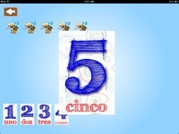 iPad App for Kids Teaches Spanish Numbers, Letters, Colors » Spanish Playground | Preschool Spanish | Scoop.it