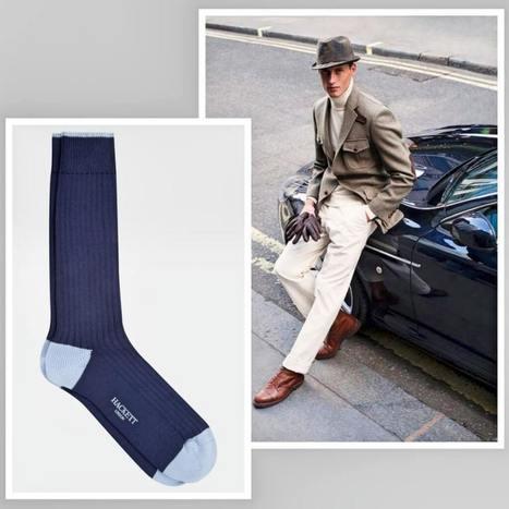 Hackett London socks - The authentic British feeling | vanitysocks | Scoop.it