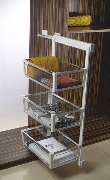 Klasse-Silent-Glass-Side-Mounted-Rack   Modular-Kitchen   Scoop.it