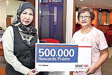 Michael James wins 500000 reward points from HSBC - Borneo Bulletin | banking industry Premier | Scoop.it