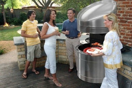 Wilson Solar Grill Stores the Sun's Energy for Nighttime Fuel-Free Grilling | Sustain Our Earth | Scoop.it