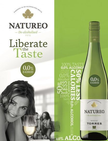 A REVOLUTION by Torres: New white without alcohol at 0.0% | Vitabella Wine Daily Gossip | Scoop.it