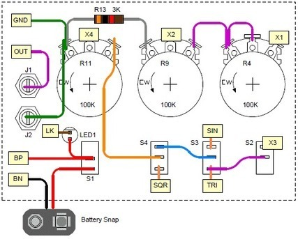 Constructing the Battery Signal Generator | ARDUINO | Scoop.it