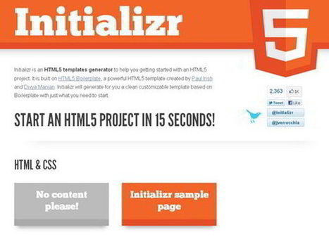 HTML5 Editing Tools for Accelerated Development : Dezign Matterz | HTML5 Design | Scoop.it