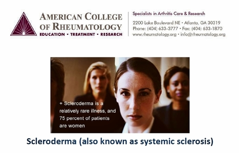 Scleroderma (also known as systemic sclerosis) | Diagnostician Life | Scoop.it