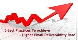 5 Best Practices To Achieve Higher Email Deliverability Rate | Garuda - The Intelligent Mailer | Email Marketing | Scoop.it