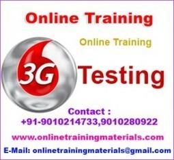 3G Testing online training institute in Ameerpet, 3G Testing Online Training Institute from Hyderabad India.   Online Training Materials   Online Training   Scoop.it