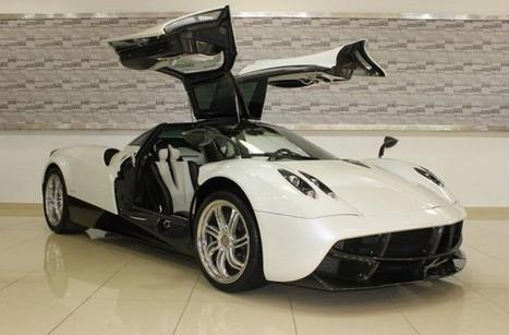 White and Carbon Fiber Pagani Huayra For Sale in Dubai - GTspirit | players car rental | Scoop.it
