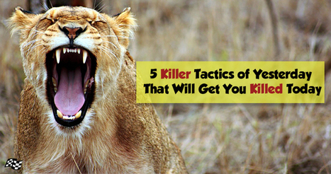 Yesterday's SEO Tactics That Will Get You Killed Today | Tecniche per la visibilità online | Scoop.it