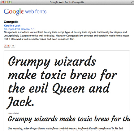 A Beginner's Guide to Using Google Web Fonts | Design Shack | Basics and principles for a good  Web Design | Scoop.it