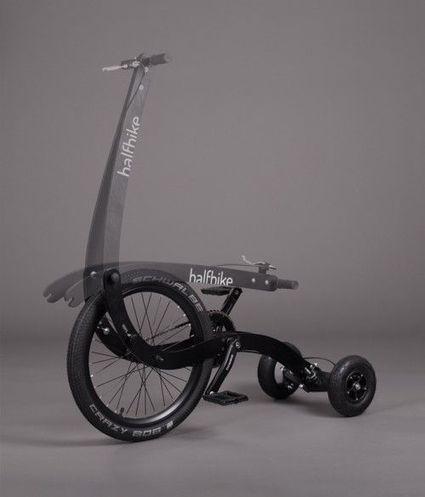 Half Bike : un demi vélo pour plus de mobilité urbaine | Technologie et Innovation | La technologie au collège | Scoop.it