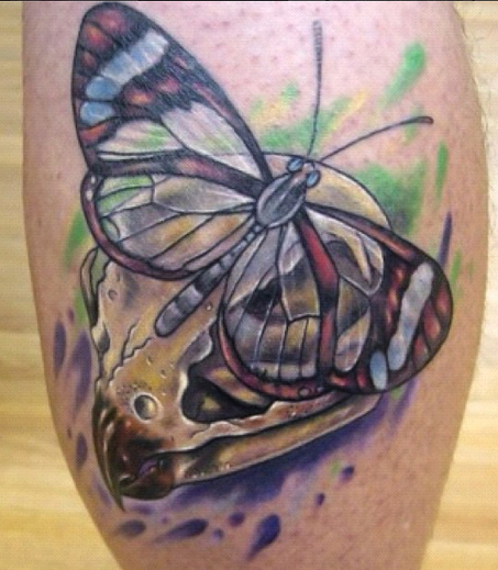 Tattoo by Mindy Stewart at Olde Tyme Tattoo in Titusville FL.... | Tattooed | Scoop.it