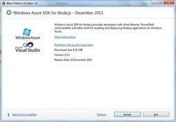 Créer une application NodeJS sur Windows Azure   Node.js   Scoop.it