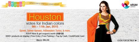 UCarnival Houston 2015 - Indian Ethnic Wear Fest - Houston,  | Events in Houston | Sandhira News | Scoop.it