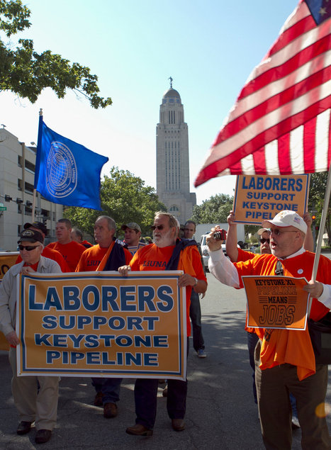 A.F.L.-C.I.O. Backs Keystone Oil Pipeline, if Indirectly | Sustain Our Earth | Scoop.it