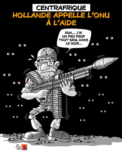 Centrafrique : Hollande en appelle à l'ONU | Baie d'humour | Scoop.it