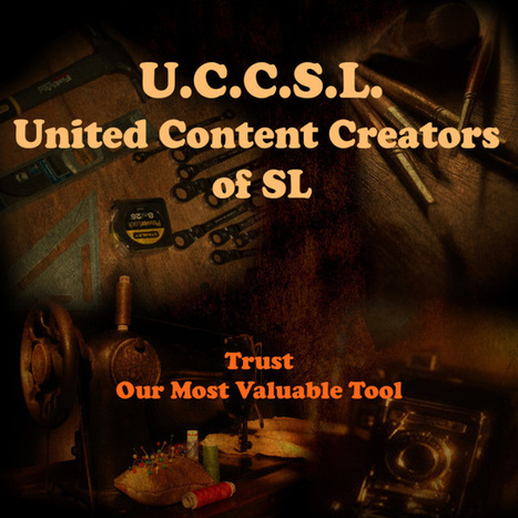 United Content Creators of Second Life: a Forum for Content Creator Rights in the Metaverse | Second Life | Scoop.it