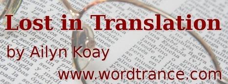 Lost in Translation | Writing | Scoop.it