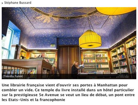 Une librairie française se crée à New York | LeTemps.ch | English Usage for French Insights | Scoop.it