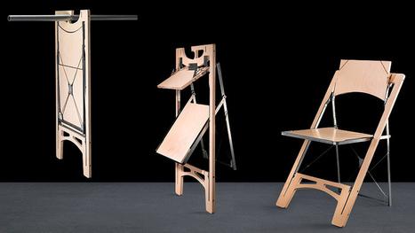 Por fin una silla plegable que ocupa poco espacio | Diseños y Soluciones | Scoop.it
