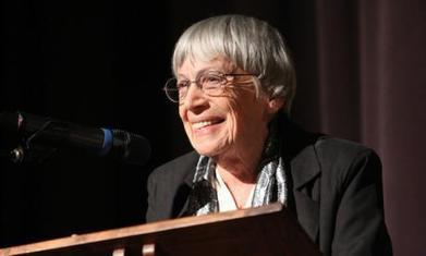 Ursula K Le Guin calls on fantasy and sci fi writers to envision alternatives to capitalism | Peer2Politics | Scoop.it
