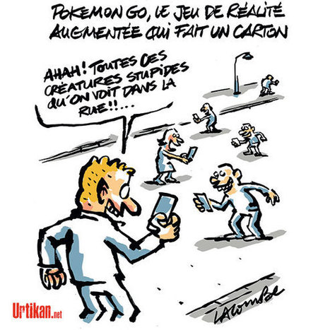 Pokemon Go : détourner le regard de la réalité… | Dessinateurs de presse | Scoop.it