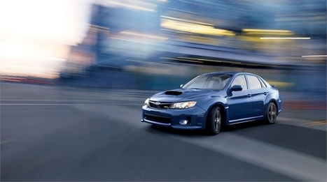 The Subaru WRX: drive it, but not for the tech | New Tech and Gadgets | Scoop.it