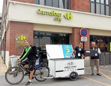 Les invendus de supérette récupérés à vélo avec Green Course et Phenix | l'événementiel éco-responsable | Scoop.it