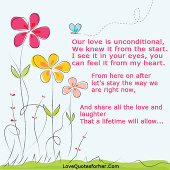 My love is unconditional quotes for and him   Love Quotes For Her   Scoop.it