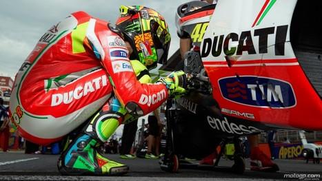 motogp.com · Valentino Rossi, Ducati Team, Catalunya Circuit RAC - © Copyright Alex Chailan & David Piolé   Ductalk Ducati News   Scoop.it