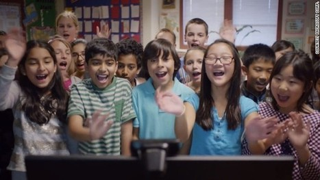 The classroom behind the Super Bowl commercial | CCTV | Scoop.it