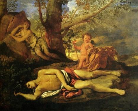 #219 ❘ Echo et Narcisse ❘ 1630 ❘ Nicolas Poussin | # HISTOIRE DES ARTS - UN JOUR, UNE OEUVRE - 2013 | Scoop.it