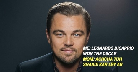 14 Hilarious Memes And Tweets Which Celebrate Leonardo DiCaprio's Oscar Win! | Strange days indeed... | Scoop.it