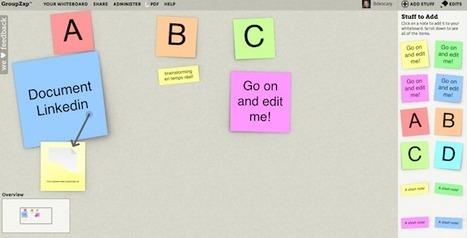 GroupZap, un outil de brainstorming collaboratif en temps réel | Time to Learn | Scoop.it