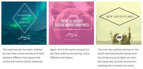 3 Social Media Design Tools That Create Stunning Images | Distance Learning & Technology | Scoop.it