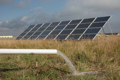 Solartech solar pump system pumping water for Pasture Irrigation in ... | Solar Pump System | Scoop.it