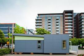 ultra-green modular classroom
