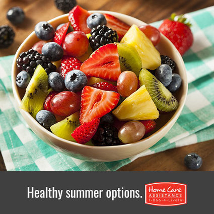 Health Benefits Served Up by Summer Fruits | Home Care Assistance of Douglas Couty | Scoop.it