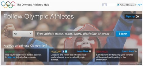 How The 2012 Olympic Summer Games Are Using Social Media ...   Social Media and Sport   Scoop.it