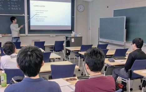 Science colleges step up English presentation courses | Education in Japan and Japanese Education | Scoop.it