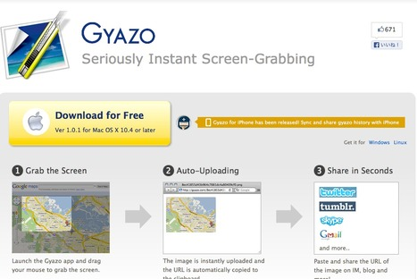 Welcome to Gyazo : Seriously Instant Screen-Grabbing | Paperless Classroom | Scoop.it