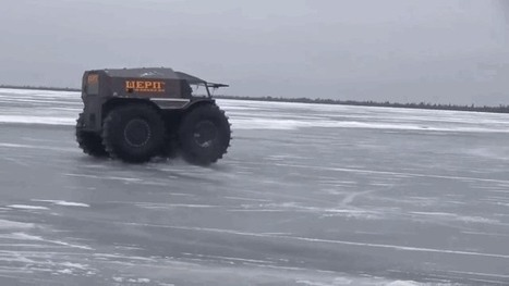 Some Russians have built the perfect apocalypse survival vehicle | Heron | Scoop.it