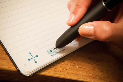 Take better notes with the Echo Smartpen | Relentlessly Creative Books | Scoop.it