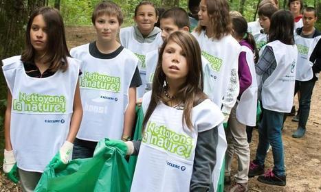 Aignan. Nettoyer la nature | College vert | Scoop.it