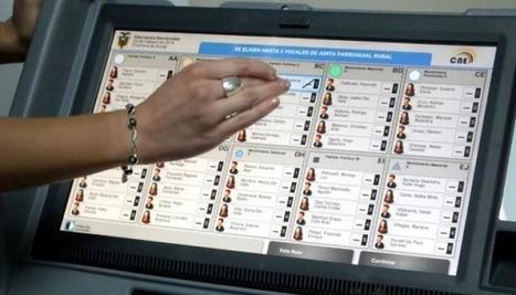 INSOLITO: @_joac Descubre fallas en Voto Electrónico en ARG y le hacen Juicio. - Geek's RooM | Bits on | Scoop.it
