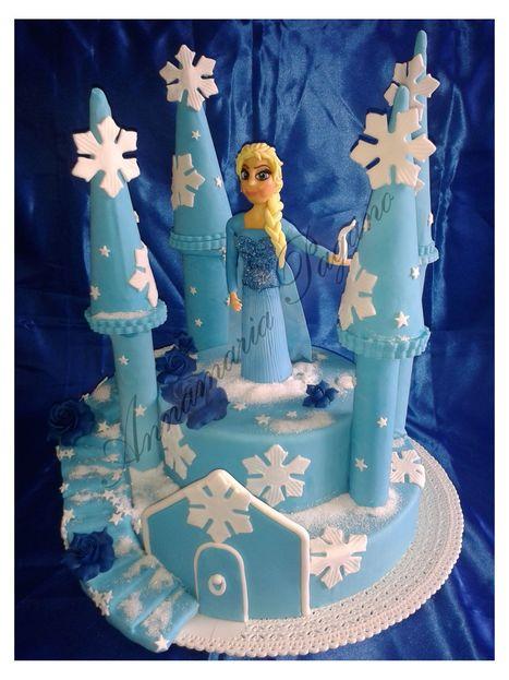 Elsa, la Regina del Ghiaccio...   Cake Design e Decorazioni Torte   Scoop.it
